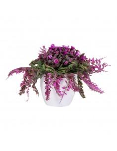 Floare artificiala in ghivechi