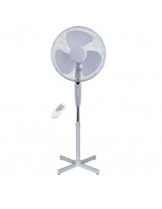 Ventilator cu picior , alb