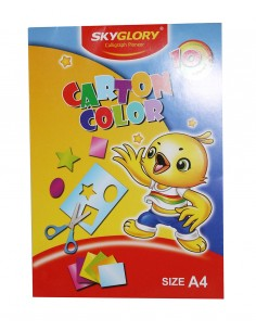 Carton colorat