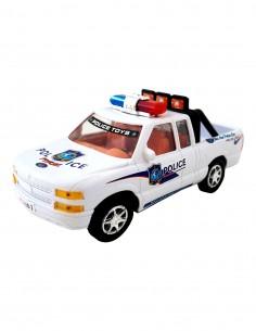 Masina de politie camioneta...