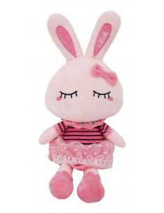 Plus iepuras roz 40x15 cm
